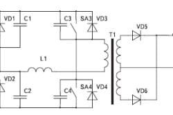 Упрощенная схема силовой части сварочного инвертора