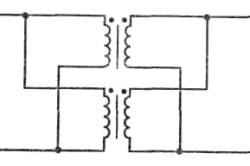 Схема соединения трансформаторов