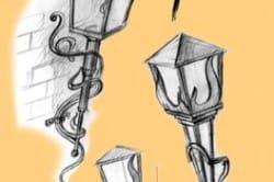 Разновидности кованых фонарей