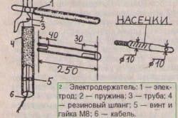 Описание изготовления сварочного аппарата на 220 В