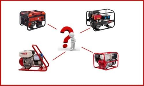 Выбор генератора
