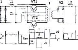 Электросхема сварочного инвертора.