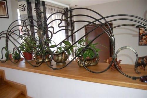 Кованые изделия в дизайне интерьера