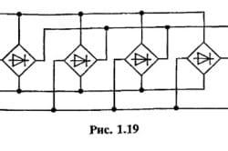 Схема диодного моста для сварочного полуавтомата
