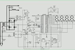 Схема чертежа сварочного аппарата с фазным управлением