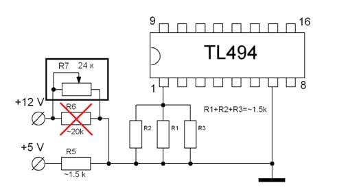 Зарядное Устройство Из Компьютерного Бп На Tl494